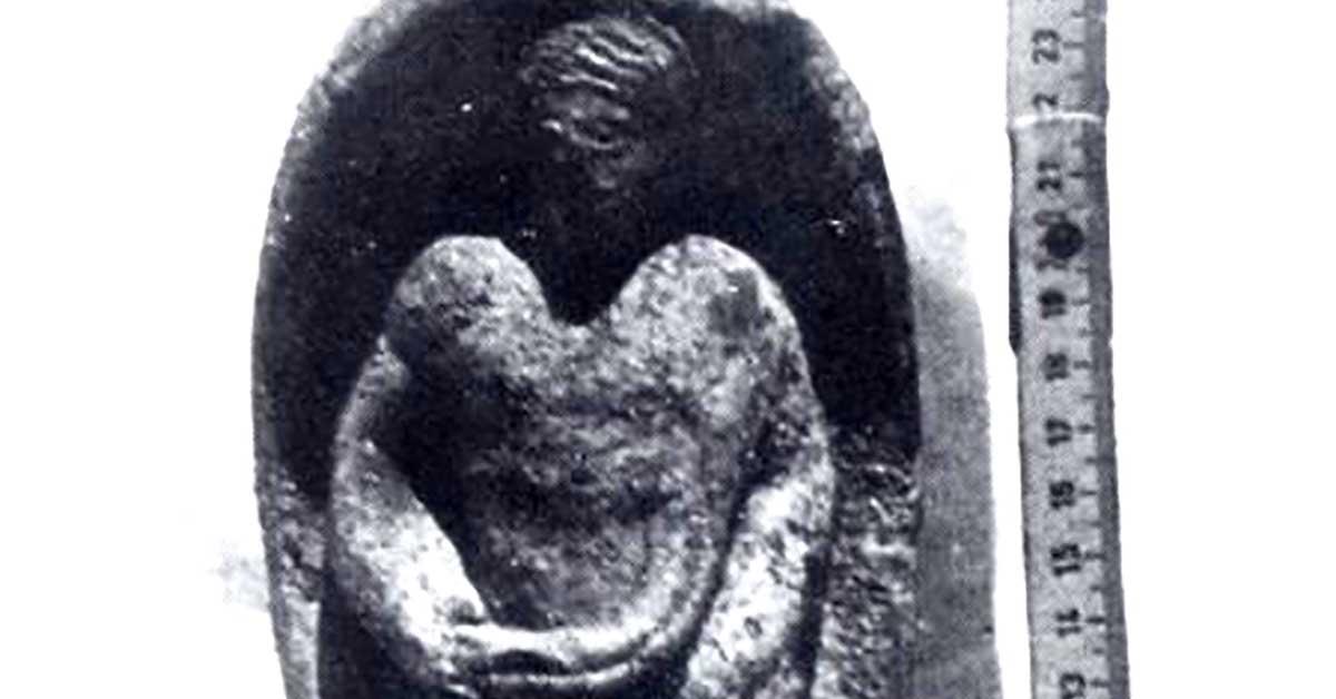 Statuetta fittile femminile Archeologia Mondragone