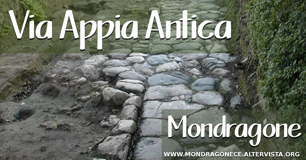 Via Appia Antica Mondragone