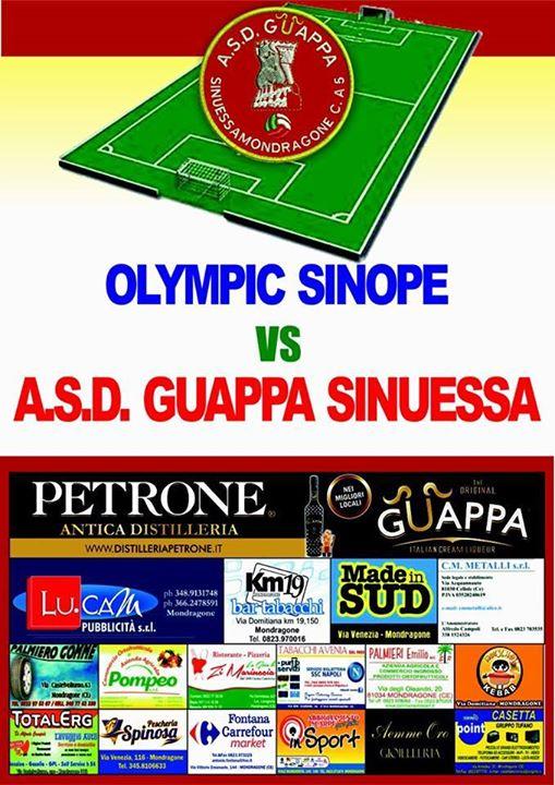 OLIMPIQUE SINOPE VS A.S.D. SINUESSA MONDRAGONE