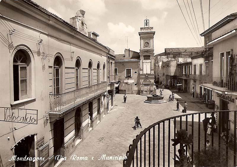 C'era una volta Mondragone Piazza Umberto I