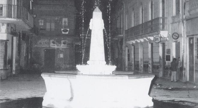C'era una volta Mondragone – Fontana Piazza Umberto I 1960
