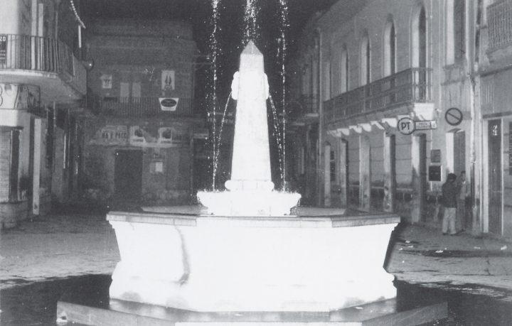 Fontana Piazza Umberto I 1960