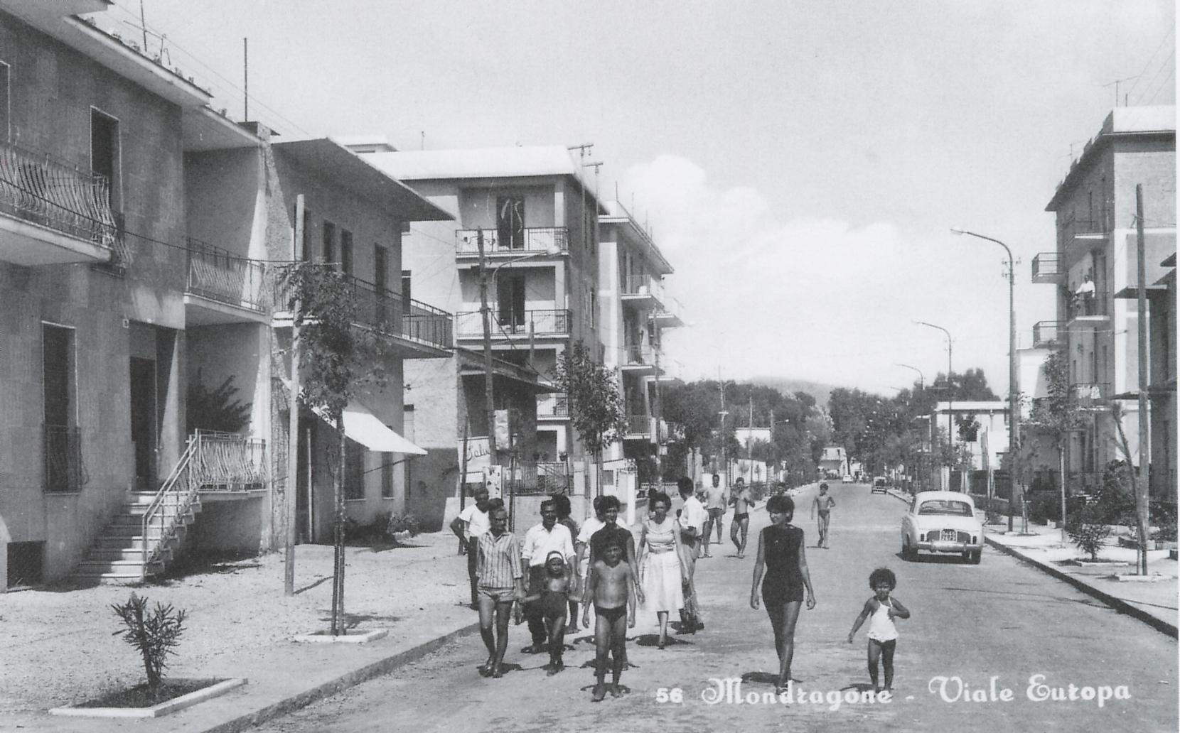 C'era una volta Mondragone – Viale Europa 1960