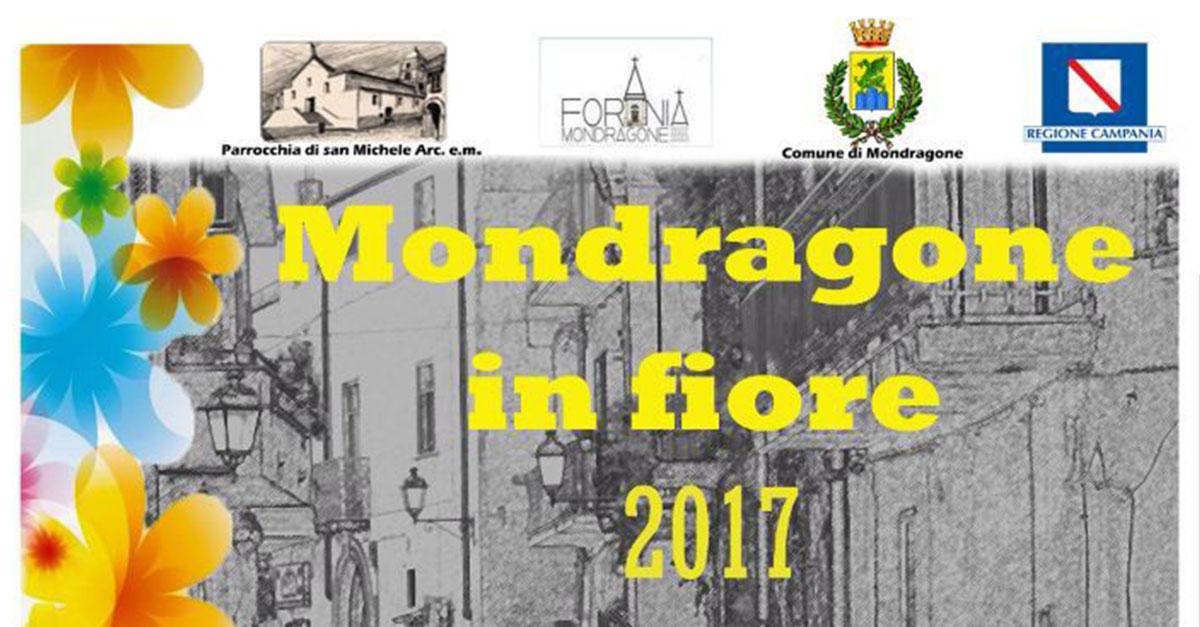 """Domenica 18 Giugno """"Mondragone in fiore 2017"""" IV Edizione"""